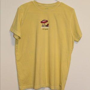 yellow Life is good tee-shirt!